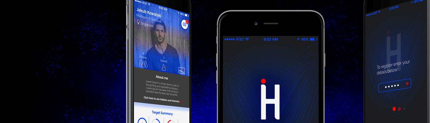 hinter mobile app preview