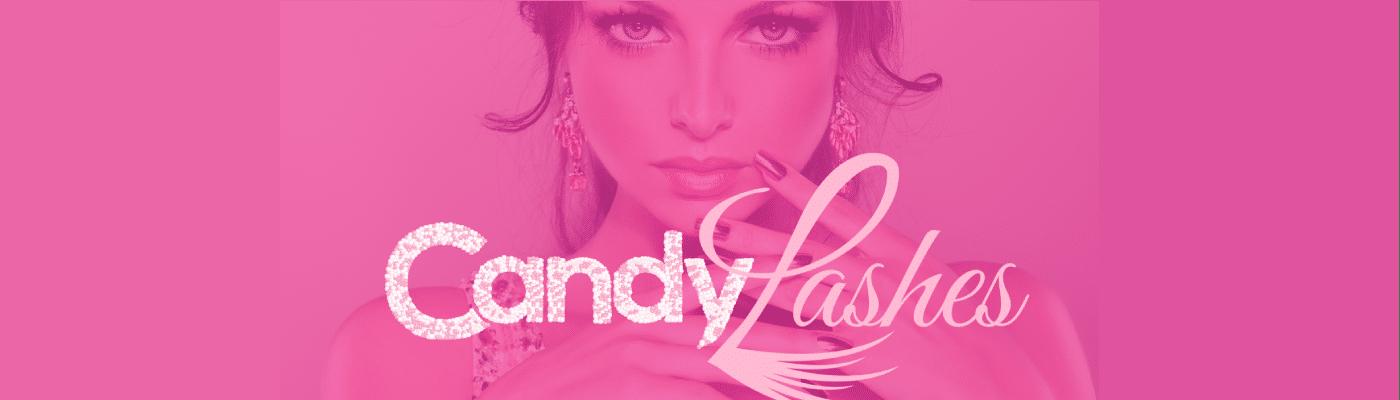 candylashes branding mockup