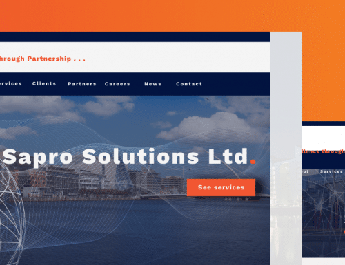 Sapro website preview